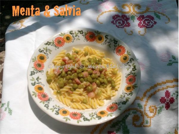 pasta-piselli