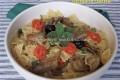 Pasta con carciofi, pomodorini e menta
