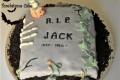 Tombstone cake e... Due anni di Menta & Salvia