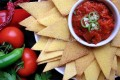 Tortillas home made con salsa piccante