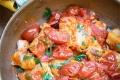 Persico con pomodorini e capperi